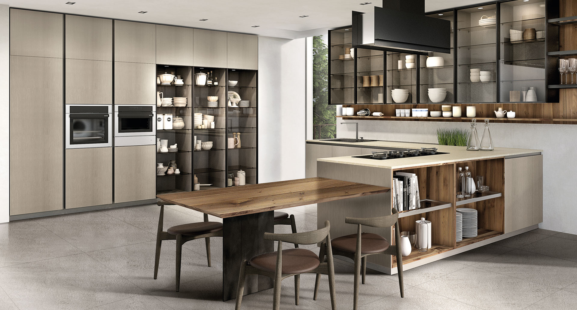 Home is where the kitchen is - homestyleblogs.com
